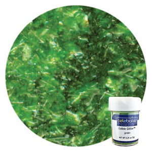 CK Edible Glitter Green 1/4 oz