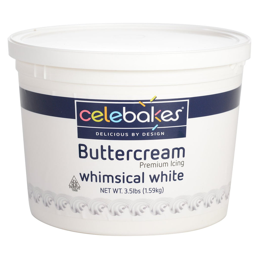 Celebakes White Buttercream Icing 3.5 lb CK Products Buttercream - Bake Supply Plus