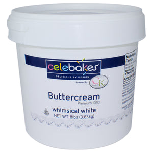 Buttercream Whimsical White Icing 8 lb CK Products Buttercream - Bake Supply Plus