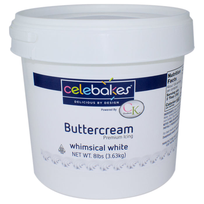 Buttercream Whimsical White Icing 8 lb