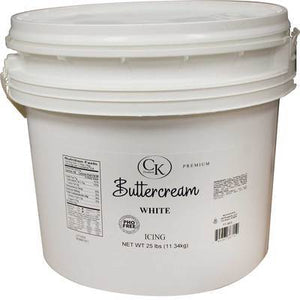 Buttercream Icing 25 lb CK Products Buttercream - Bake Supply Plus