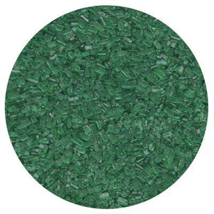 CK Sugar Crystals Green 4 oz CK Products Sprinkles - Bake Supply Plus