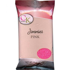 CK Jimmies Perfectly Pink — 3.2 oz/16 oz CK Products Sprinkles - Bake Supply Plus