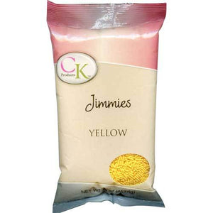 CK Jimmies Yellow — 3.2 oz/16 oz CK Products Sprinkles - Bake Supply Plus