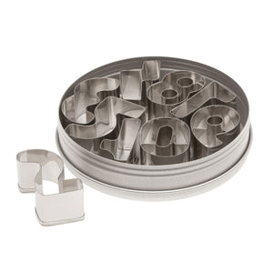 "Number Cutter Set 1.5"" Ateco Cutter - Bake Supply Plus"