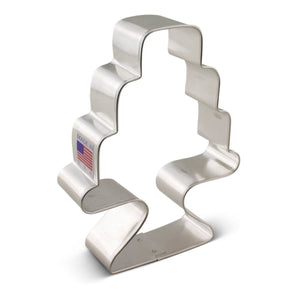 Cake with Stand Cookie Cutter Ann Clark Cookie Cutter - Bake Supply Plus
