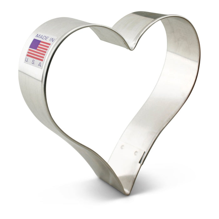 "Heart 3 5/8"" Cookie Cutter"