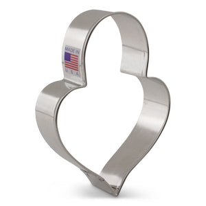 Heart Padlock Cookie Cutter Ann Clark Cookie Cutter - Bake Supply Plus