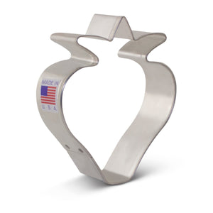 Strawberry Cookie Cutter Ann Clark Cookie Cutter - Bake Supply Plus