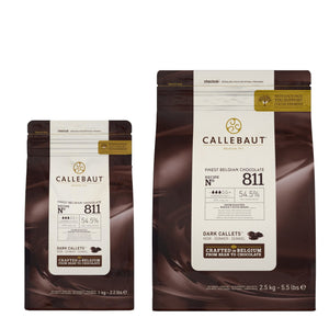 Callebaut Dark Chocolate N° 811 Callebaut Chocolate Melts - Bake Supply Plus