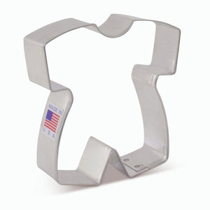 Baby Romper Cookie Cutter Ann Clark Cookie Cutter - Bake Supply Plus