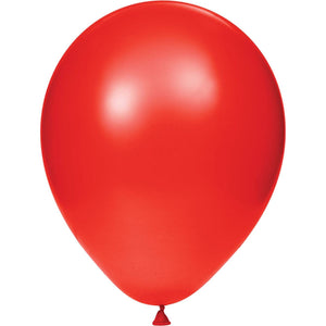 Creative Converting Latex Balloons Classic Red 15ct
