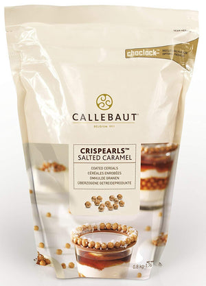 Callebaut Crispearls™ Salted Caramel Callebaut Chocolate Topping - Bake Supply Plus