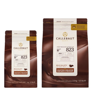 Callebaut Milk Chocolate N° 823 Callebaut Chocolate Melts - Bake Supply Plus