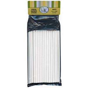 "Suckerstick Lollipop Sticks 6-1/2 X 15/64"" 48/PK CK Products Lollipop Sticks - Bake Supply Plus"
