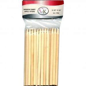 "5-1/2"" Candy Apple Stick CK Products Candy Apple Stick - Bake Supply Plus"