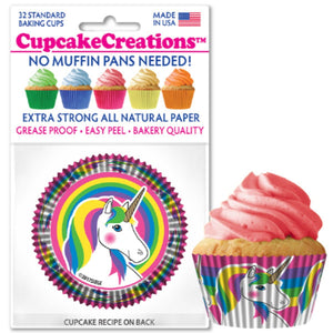 Unicorns Cupcake Liner, 32 ct. Cupcake Creations Cupcake Liner - Bake Supply Plus