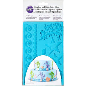 Wilton Fondant Mold Sea Life