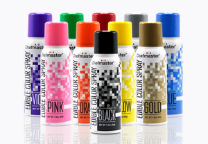 Chefmaster Edible Color Spray - All Colors Chefmaster Color Spray Can - Bake Supply Plus