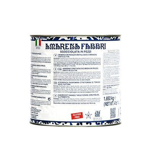 Fabbri Drained Amarena Fabbri Toppings - Bake Supply Plus