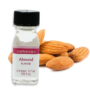 Almond Flavor 1 Dram LorAnn Oils Flavoring - Bake Supply Plus