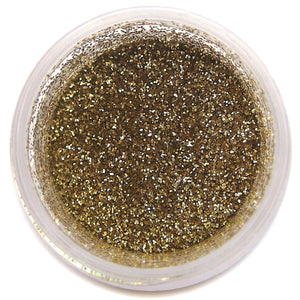 American Gold Disco Dust Sunflower Sugar Art Disco Dust - Bake Supply Plus