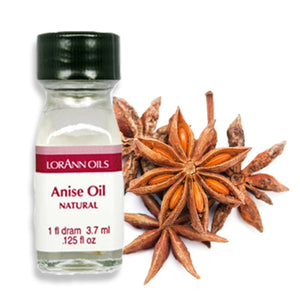 Anise Oil, Natural Flavor 1 Dram - Bake Supply Plus