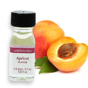 Apricot Flavor 1 Dram LorAnn Oils Flavoring - Bake Supply Plus