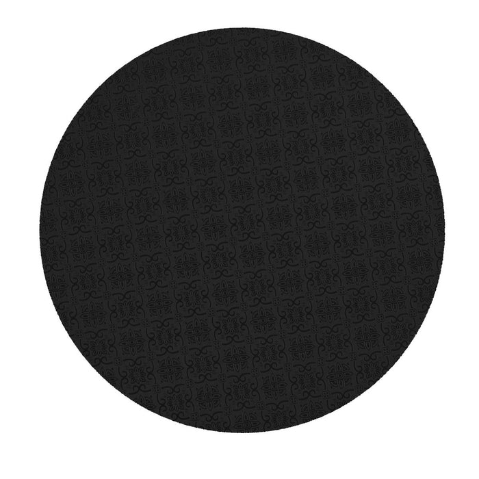 Black Circle Cake Drums — All Sizes