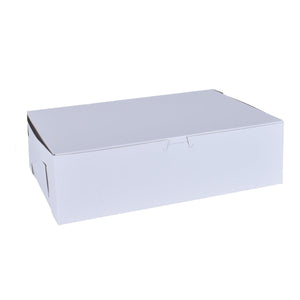 White Cake Boxes - 14x10x4 Bake Supply Plus Box - Bake Supply Plus