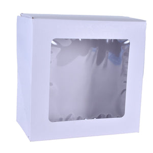 Pie Boxes With Window  — 9x9x2.5/10x10x2.5 Whalen Packaging Box - Bake Supply Plus