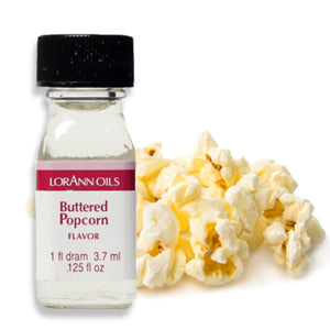 Buttered Popcorn Flavor 1 Dram LorAnn Oils Flavoring - Bake Supply Plus
