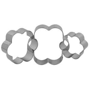 Petal Shape Fondant Cookie Pastry Cutter Set NY Cake Fondant Cutter - Bake Supply Plus
