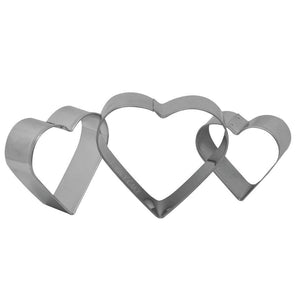 Heart Fondant Cookie Pastry Cutter Set NY Cake Cookie Cutter - Bake Supply Plus