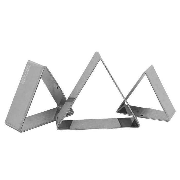 Triangle Fondant Cookie Pastry Cutter Set