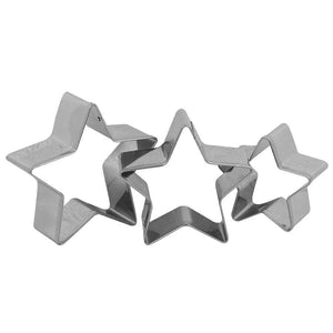 Star Fondant Cookie Pastry Cutter Set NY Cake Cookie Cutter - Bake Supply Plus