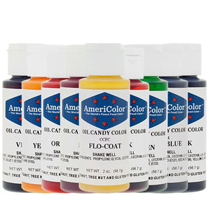 Americolor Oil Candy Color - All Colors Americolor Oil Base Color - Bake Supply Plus