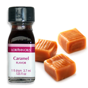 Caramel Flavor 1 Dram LorAnn Oils Flavoring - Bake Supply Plus