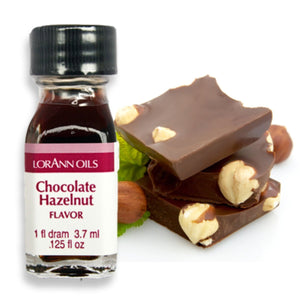Chocolate Hazelnut Flavor 1 Dram LorAnn Oils Flavoring - Bake Supply Plus
