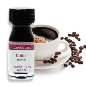 Coffee, Natural Flavor 1 Dram LorAnn Oils Flavoring - Bake Supply Plus