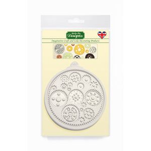 Cogs & Wheels Silicone Mold Katy Sue Designs Silicone Mold - Bake Supply Plus