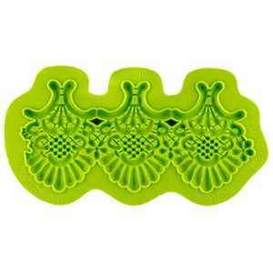 Colette Lace Mold Marvelous Molds Silicone Mold - Bake Supply Plus