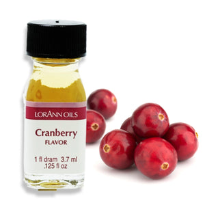 Cranberry Flavor 1 Dram LorAnn Oils Flavoring - Bake Supply Plus