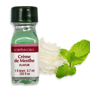 Crème de Menthe, Natural Flavor 1 Dram LorAnn Oils Flavoring - Bake Supply Plus