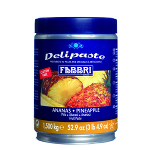 Fabbri Pineapple Delipaste/Compound Fabbri Flavoring Paste - Bake Supply Plus