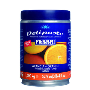 Fabbri Orange Delipaste/Compound Fabbri Flavoring Paste - Bake Supply Plus
