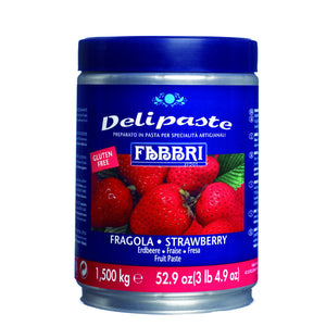 Fabbri Strawberry Delipaste/Compound Fabbri Flavoring Paste - Bake Supply Plus