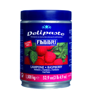 Fabbri Raspberry Delipaste/Compound Fabbri Flavoring Paste - Bake Supply Plus