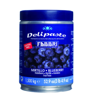 Fabbri Blueberry Delipaste/Compound Fabbri Flavoring Paste - Bake Supply Plus