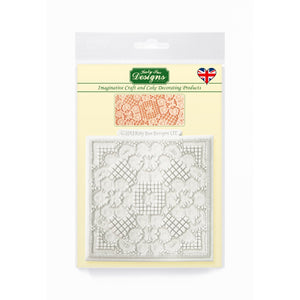 Duchess Design Mat Silicone Mold Katy Sue Designs Texture Mat - Bake Supply Plus